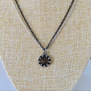 Up cycled  Authentic Louis Vuitton crystal charm